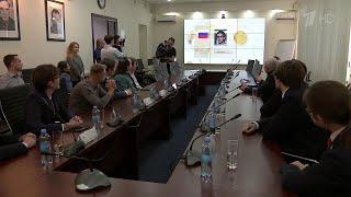 В. Путин поздравил победителей Международной олимпиады по физике и пожелал им дальнейших успехов.