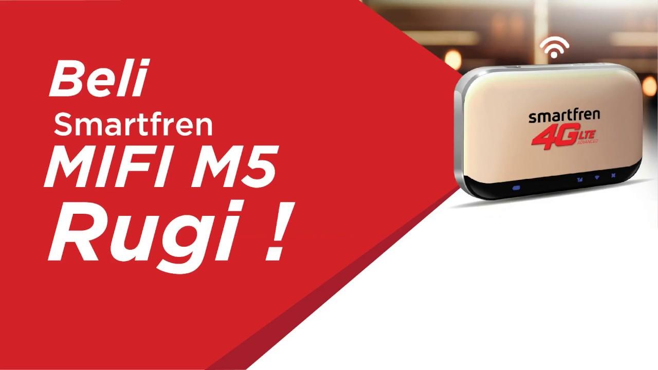 Beli Smartfren Mifi M5 Rugi Youtube Perdana 4g Gsm Kuota 22 Gb