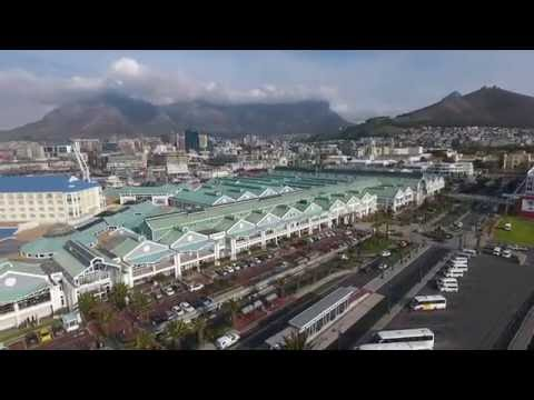 DJI Phantom 4 Drone Footage, V&A Waterfront, Green Point Stadium, Cape Town