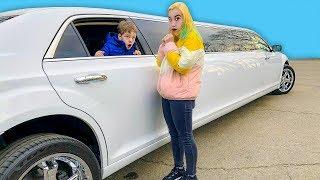Света и Богдан уехали на лимузине!