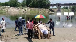 On Location Of Bhojpuri Film Action Raja