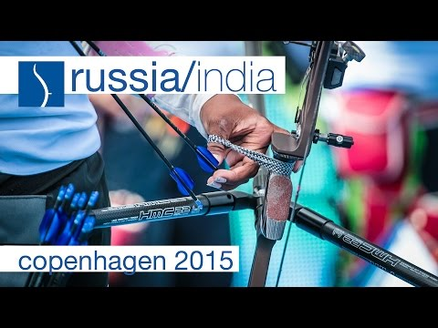 Russia v India – Recurve Women's Team Gold Final | Copenhagen 2015