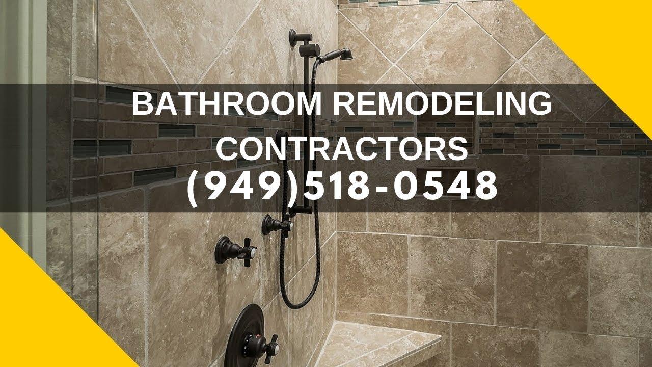 Master Bathroom Design Company Licensed Contractor Cost Near Me In Orange County California Youtube