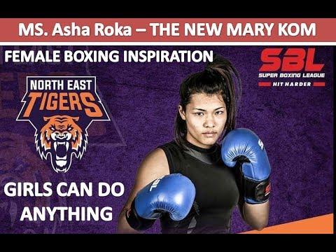 Girls Can Do anything | The New Mary Kom - Inspiration Boxer Asha Roka with VJ Harshit Dhingaun