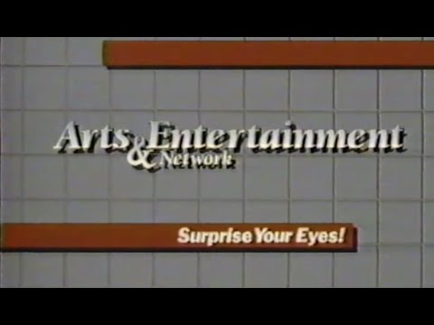 Au0026E Arts U0026 Entertainment Network - Station Sign-Off - 1986