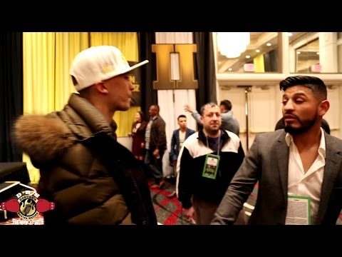 LEE SELBY CONFRONTS ABNER MARES AFTER TWITTER WAR!!