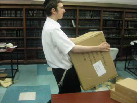 Father & Son Shabbos in Lubavitch Mesivta of Chicago 5769