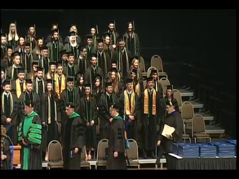 2016 Southern College Of Optometry Commencement Ceremony