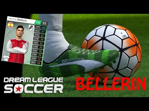 Hector BELLERIN 2017 ● Dream League Soccer | Crazy Defensives Skills,speed And Goals ● HD 1080p