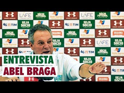 FluTV - Botafogo 2 x 1 Fluminense - Coletiva - Abel Braga