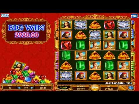 Da Vinci Diamonds Dual Play Slot - NeonJackpot.com