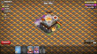 What ! 3 WALL BREAKERS vs a MAX walls base l Something strange is happening l COC 1