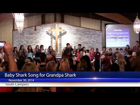 Baby Shark Song for Grandpa Shark