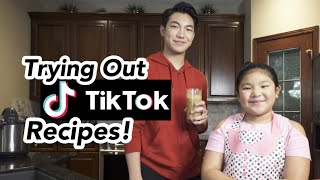 Trying Out TikTok Recipes with Lynelle! | Darren Espanto YouTube Videos