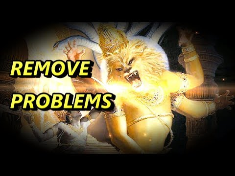 REMOVE PROBLEMS - NARASIMHA MAHA MANTRA