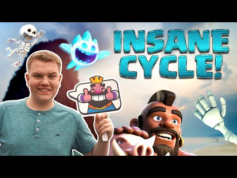 INSANE CYCLE! 2.6 Hog Cycle Deck 4,900+ LIVE Ladder Gameplay! - Clash Royale