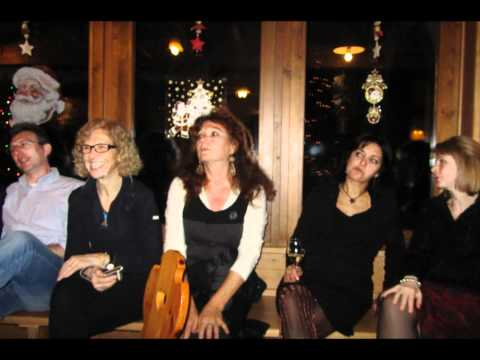Ciaspolata Pale di San Martino 2010/2011 4 parte: Capodanno al Cant del Gal