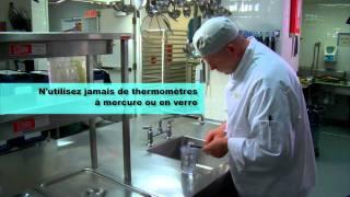 Comment utiliser et étalonner un thermomètre pour aliments