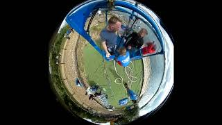 My birthday jump. UK highest bungee jump in Windsor, Brays, Forwards and backwards.  360 degrees