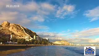Timelapse о Аликанте, недвижимость в Испании у моря, агентство Spaintur