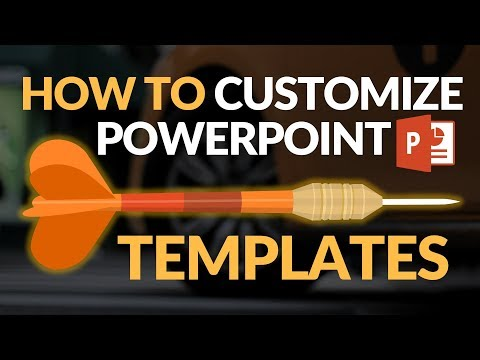 How To Customize PowerPoint Template 2018