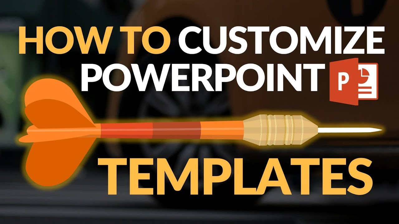 How To Customize PowerPoint Template 2018 - YouTube