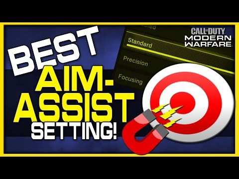 Best Aim Assist Setting In Modern Warfare! | (Full Target Assist Breakdown!)