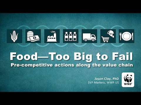 Dr Jason Clay: Pre-competitive actions along the value chain - lessons for NZ.