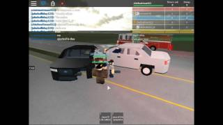 Roblox DUI safety video EMS veiw