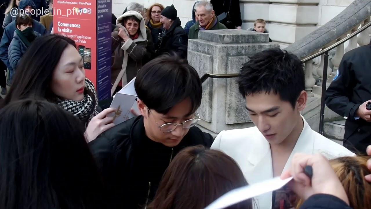 Yang Yang 杨洋 Dunhill Menswear Fashion Show 19 01 2020 Youtube