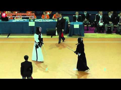 Kendo「剣道」- 15th WKC Men Semi Final Court B (Japan vs Korea) [VID:20120525002]