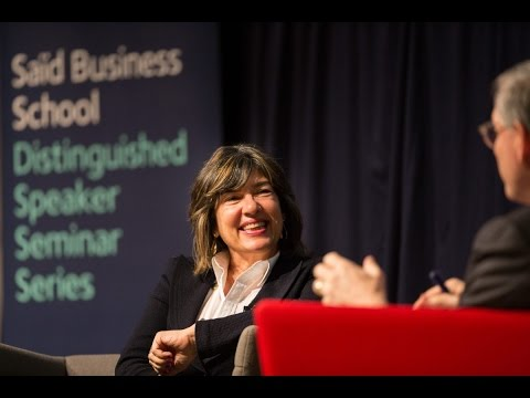 Christiane Amanpour CBE: women in journalism, Iran and foreign correspondence