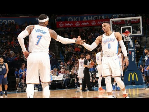 Russell Westbrook & Carmelo Anthony Tip-Off Ritual (VIDEO)