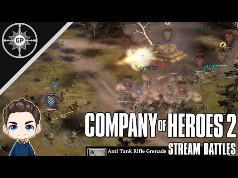 Never Give Up, Never Surrender! V2 - Company of Heroes 2 Stream Battles