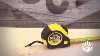 8 Metre Auto Lock Power Builders Brand Tape Measure