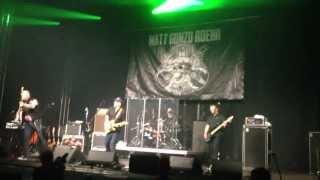 """Matt Gonzo Roehr Live 20.04.13 @ Geiselwind - Das Signum des Verrats """"Onkel covert Onkelz"""""""