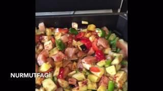Silex tavada türlü Kebabı Nasıl yapılır tarifi- Nurmutfagi