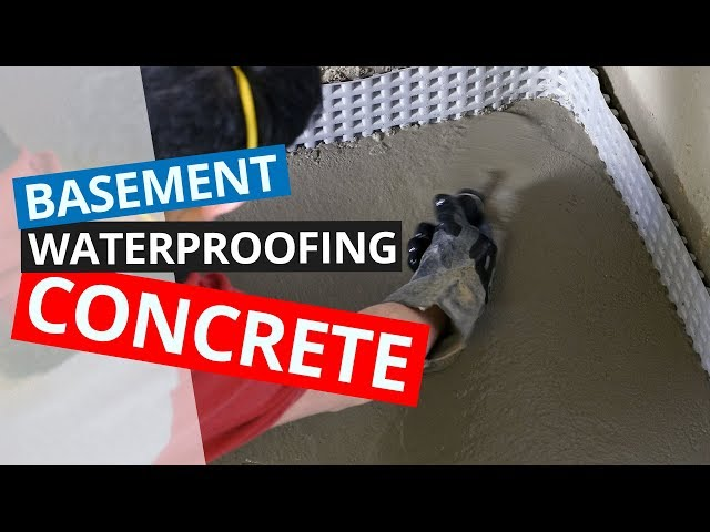 Basement Waterproofing Concrete | SuperCrete + SuperSlurry