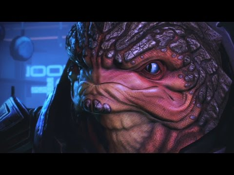 Mass Effect Trilogy: All Scenes with Grunt Complete