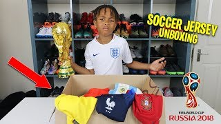MASSIVE Ronaldo Neymar Messi World Cup Soccer Jersey Unboxing!