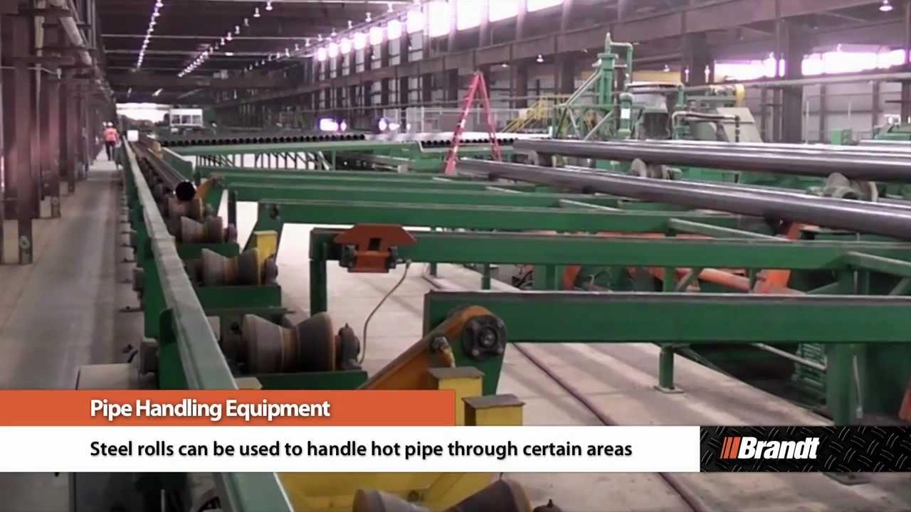 Brandt Pipe Handling Equipment Youtube