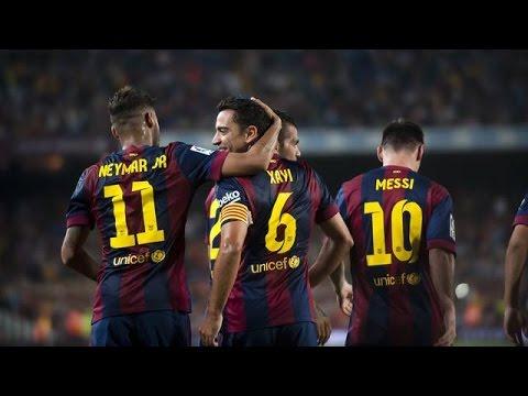 FC Barcelona Vs SD Eibar 3-0 || All Goals & Highlights 18/10/14 ...