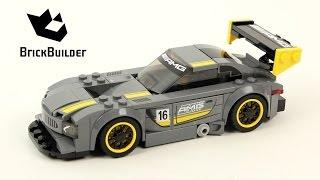 Lego Speed Champions 75877 Mercedes-Amg Gt3 - Lego Speed Build