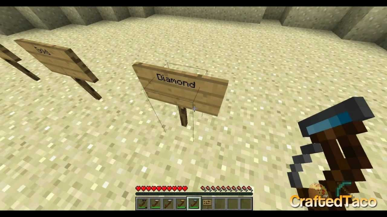1 3 1 Metal Detector Sp Minecraft Mods Mapping And Modding Java Edition Minecraft Forum Minecraft Forum
