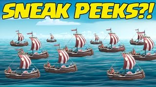 Boat Update Sneak Peeks - ALMOST OVER? Clash of Clans May 2017 Update