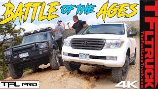 Toyota vs Land Rover: We Take 2 Off-Road Icons Up A Mountain To See Which Is Best   TFL Pro S.1 Ep.8
