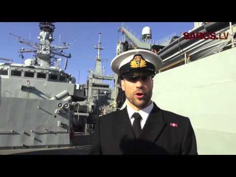 Rīgā ierodas NATO 1.pastāvīgās Jūras spēku grupas kuģi