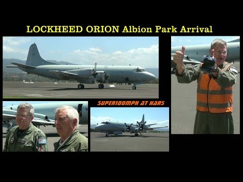 HARS LOCKHEED AP-3C ORION Albion Park Arrival