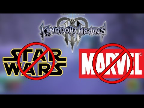 NOMURA CONFIRMS THAT STAR WARS AND MARVEL IS UNLIKELY IN KINGDOM HEARTS 3