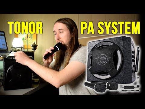 TONOR PA System Karaoke Machine Review!
